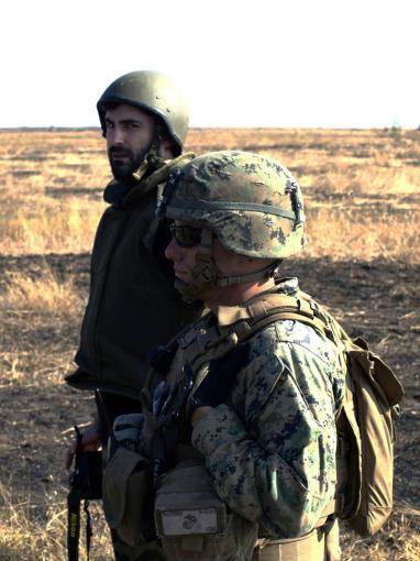 Marius Constantin şi Infanteristul Marin