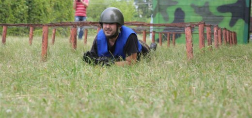 Marius Constantin la traseul cu obstacole
